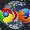 Firefox, Google Chrome loswerden
