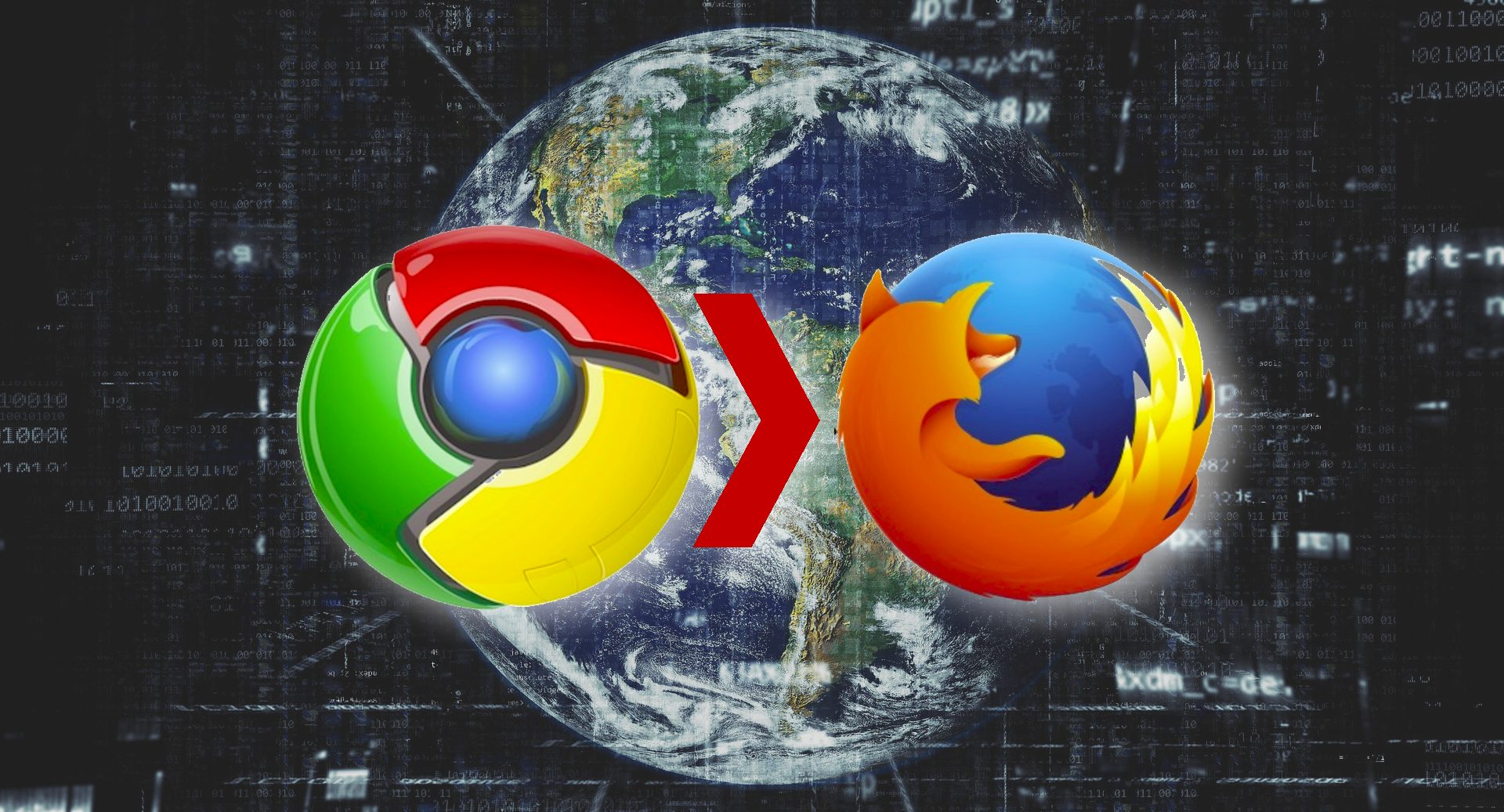 Firefox, Google Chrome loswerden